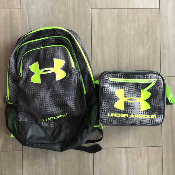 97d8541ef4ad Under Armour Backpack and Lunchbox Set. M 5b4902c33c98446e069a89e4